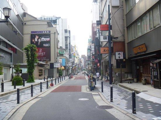 Kitashinchi: 早朝の模様
