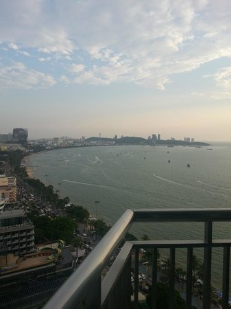 Holiday Inn Pattaya: The view from our room