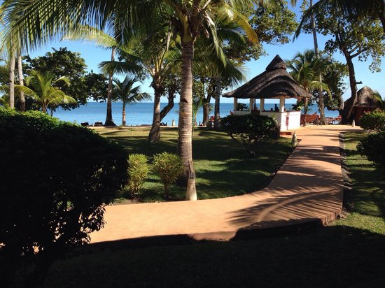 VOI Amarina resort: Vista dal ristorante