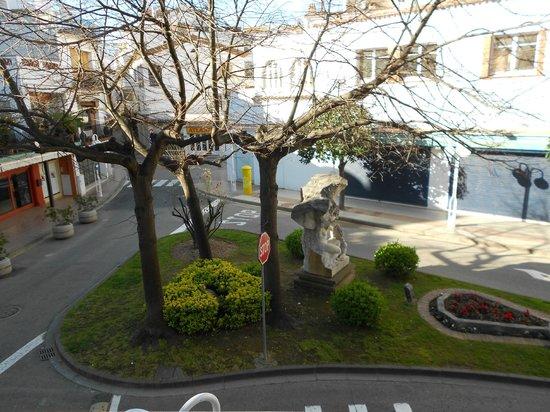 Hotel Delfin: Vista desde la habitación