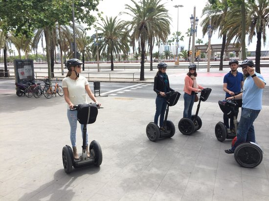 Barcelona Segway Glides: Fun!