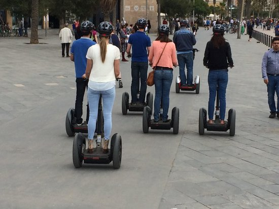 Barcelona Segway Glides: Group on Segways