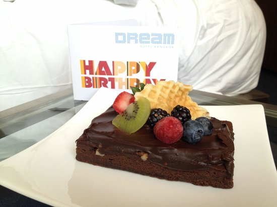 Dream Bangkok : With compliments on my birthday