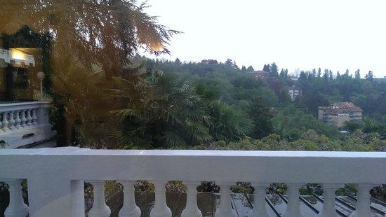Villa Somis : Aus dem Fenster