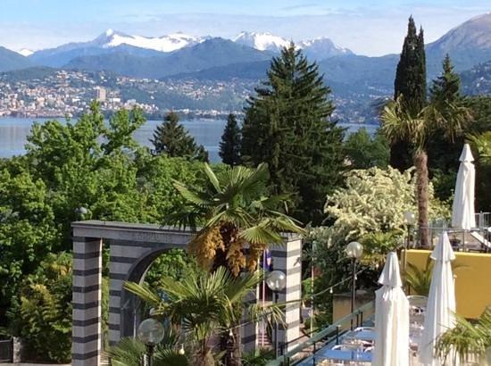 Hotel Campione: Vista Lago Ceresio dalla nostra stanza