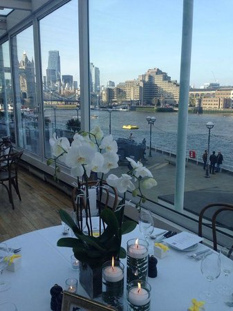 View picture of blueprint cafe london tripadvisor blueprint cafe view malvernweather Gallery