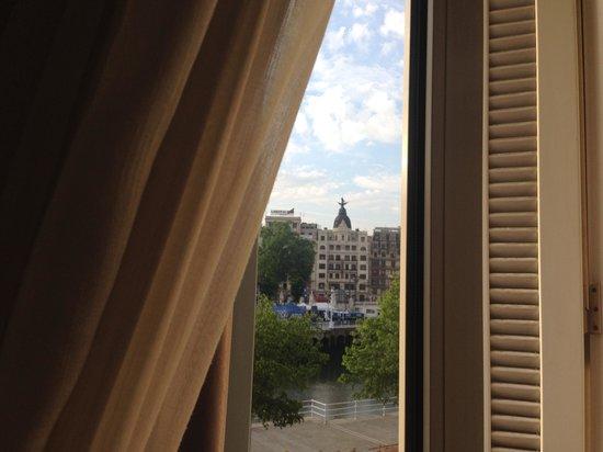 Hotel Ripa: Вид из окна