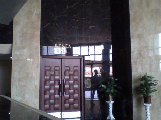 Crismon Hotel : reception