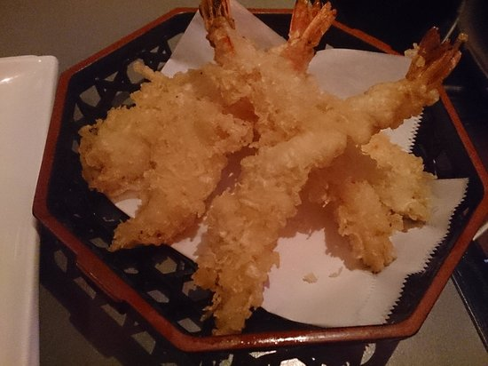 Sushi Toni: エビのてんぷら