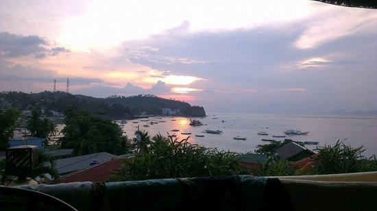 Oriental Sabang Hill Resort: View from Room #15