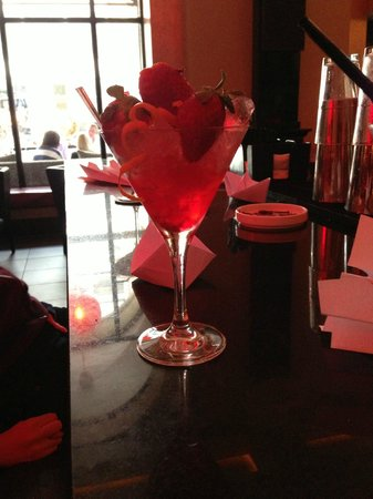 Radisson Blu Edwardian Manchester: Fantastic mocktails and service in Opus One