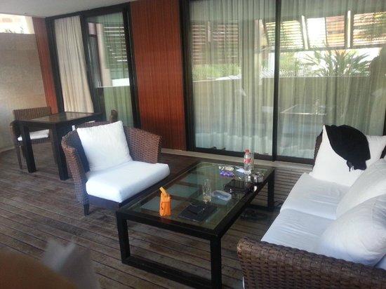 Gran Hotel Guadalpin Banus: terrace