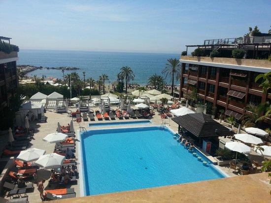 Gran Hotel Guadalpin Banus: veiw from roof suites