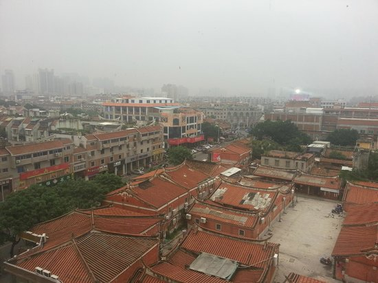 Overseas Chinese Hotel: View from the Room on the 8th Floor