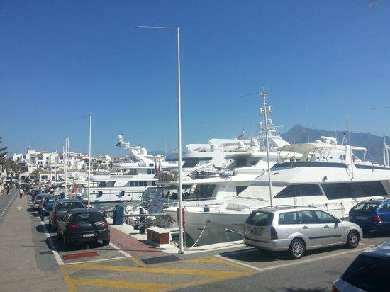 Gran Hotel Guadalpin Banus: harbour