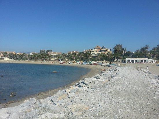 Gran Hotel Guadalpin Banus: along the beach