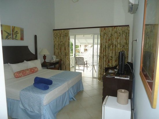The Club, Barbados Resort and Spa: Our third floor room