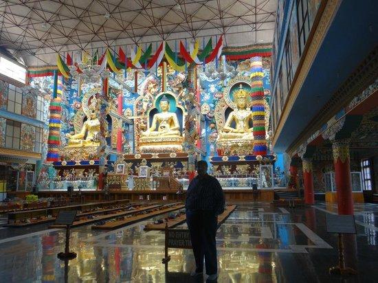 Namdroling Nyingmapa Monastery: Inside the Main Temple