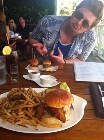 W Fort Lauderdale: best burger ever. husband was a little dissapointed by size of wagyu sliders!