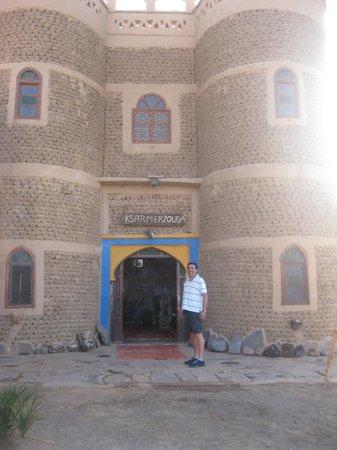 Hotel Ksar Merzouga : Entrada no Hotel