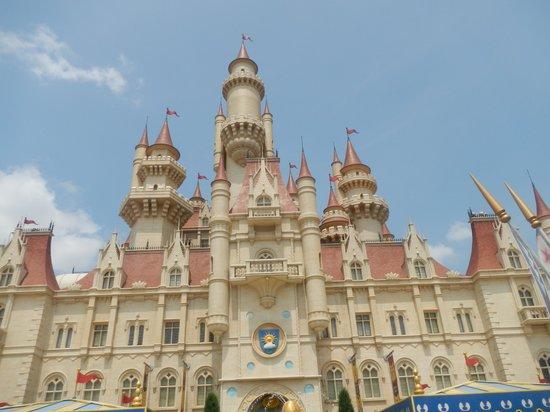 Universal Studios Singapore: Far far away castle