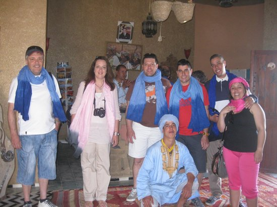 Hotel Ksar Merzouga : Ultimo dia no Hotel