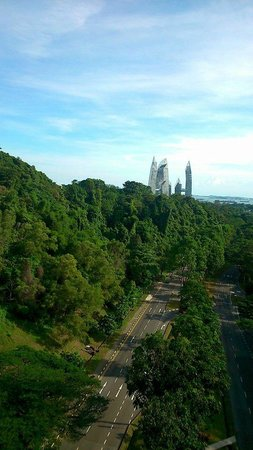The Southern Ridges: View of Reflections at Keppel from Henderson Waves