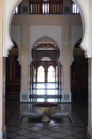 Palais Clementina : patio