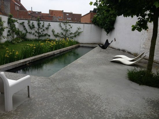 B&B Suite 17: tuin met zwembad