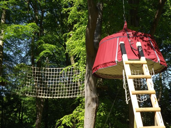 Woody Park - Tentes suspendues : Hebergement en tente