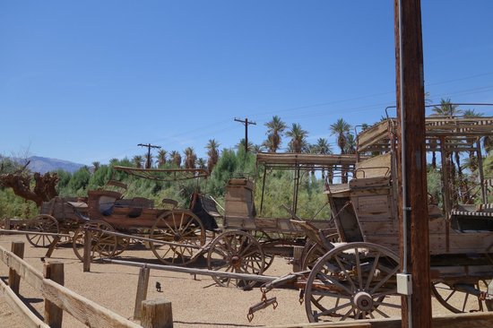 The Inn at Death Valley : mini outdoor musem on site too - lots to do here