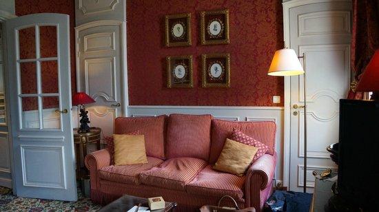 Château de Courcelles: Our room
