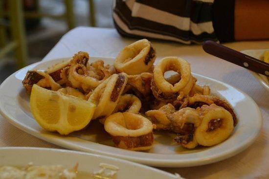 Taverna Vassilis : calamari