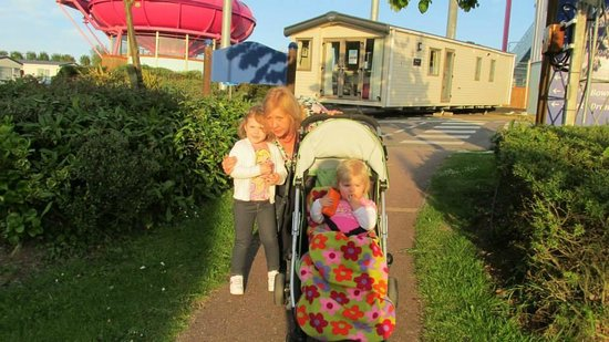 Combe Haven Holiday Park - Haven: Combe Haven - walking back to caravan from main complex