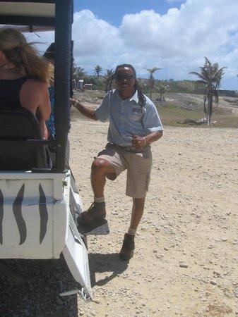Saint Michael Parish, Barbados: Ruel the guide