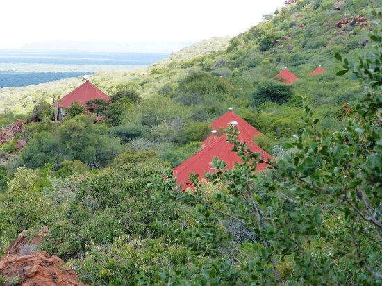 Waterberg Wilderness Lodge: Plateau-lodge