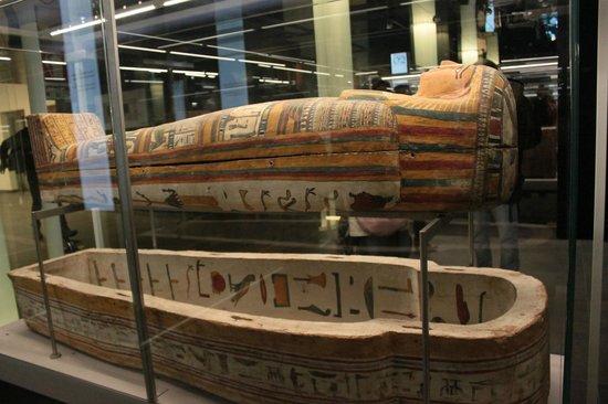 Musée égyptologique de Turin : Sarcofago