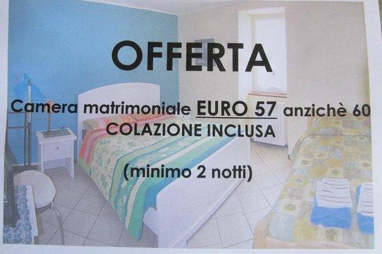 B&B Monastero: Offferta