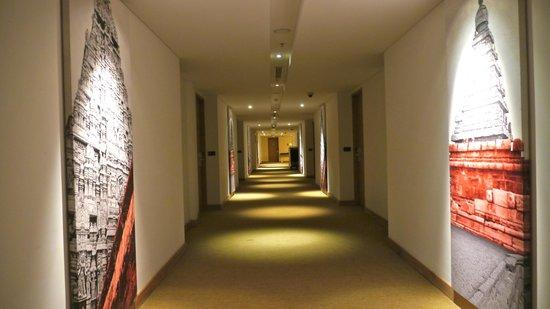The Gateway Hotel IT Expressway Chennai: Spacious corridors