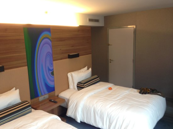 Aloft Brussels Schuman Hotel: Bedroom again