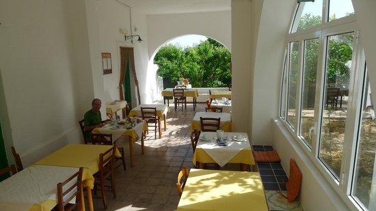 Albergo Brasile: La salle du petit dejeuner