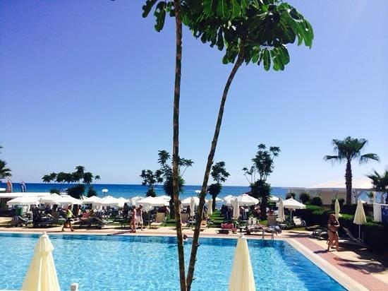 Iliada Beach Hotel: view from room