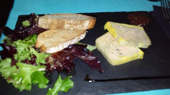 Caffe Riviera: foie gras maison