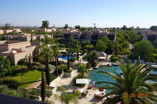 Four Seasons Resort Marrakech : View from the roof terrace Sky Bar
