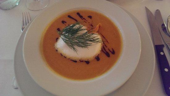 Ottenthal Restaurant & Weinhandlung: Pumpin Soup