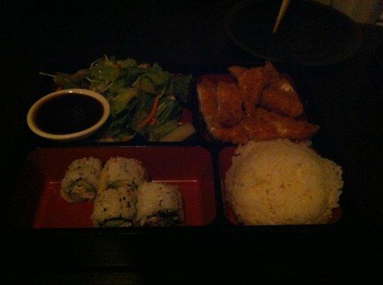Sushi on the Rock : Un bento