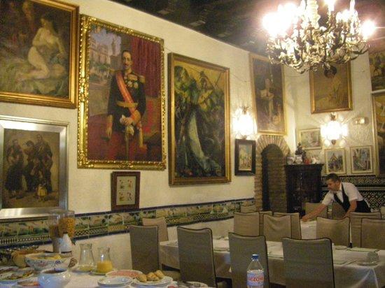 Hotel Convento La Gloria: Petit déjeuner