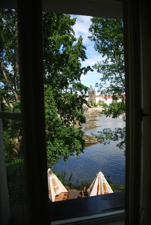 Hotel U Jezulatka: Вид из окна