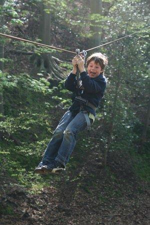 Woody Park : Tyrolienne enfant