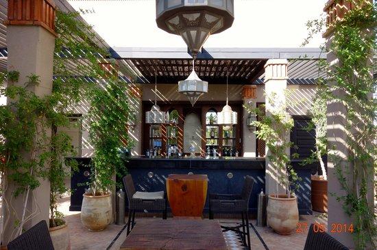 Four Seasons Resort Marrakech : The roof terrace Sky Bar